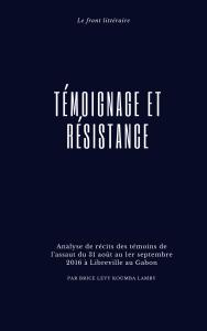 Couverture témoignage et résistance (2)